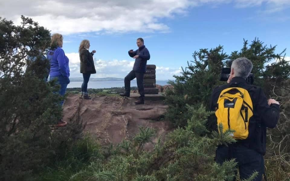Wirral Walks Hillbark Hike BBC Northwest